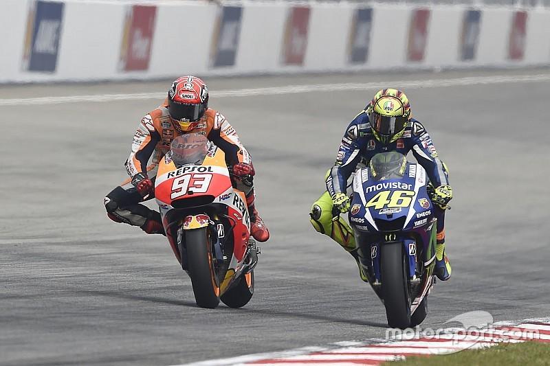 Rossi rompe contrato de merchandising com Marquez