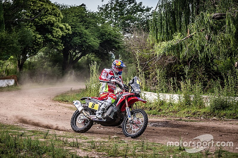 Dakar, Moto, Tappa 4: Barreda si riprende la testa