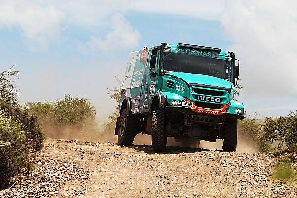 Dakar, Camion, Tappa 4: De Rooy domina con l'Iveco