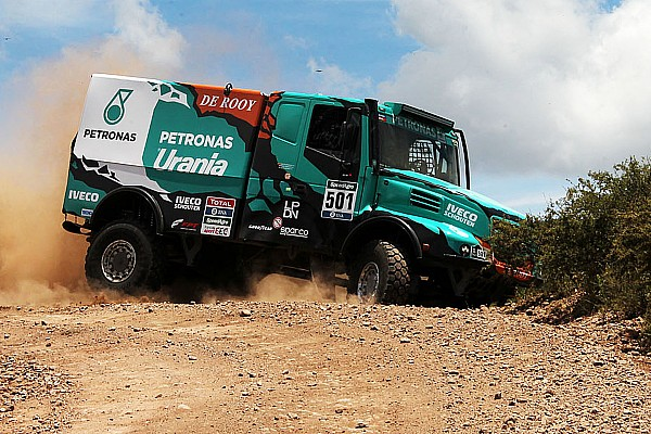 Dakar Trucks, Después de que De Rooy tomara la victoria, Versluis toma ventaja