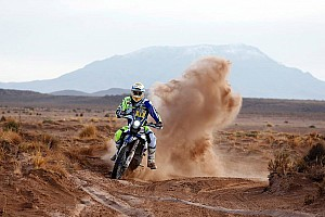 Dakar Stage report Pedrero leapfrogs Sherco TVS teammate Duclos in stage eight
