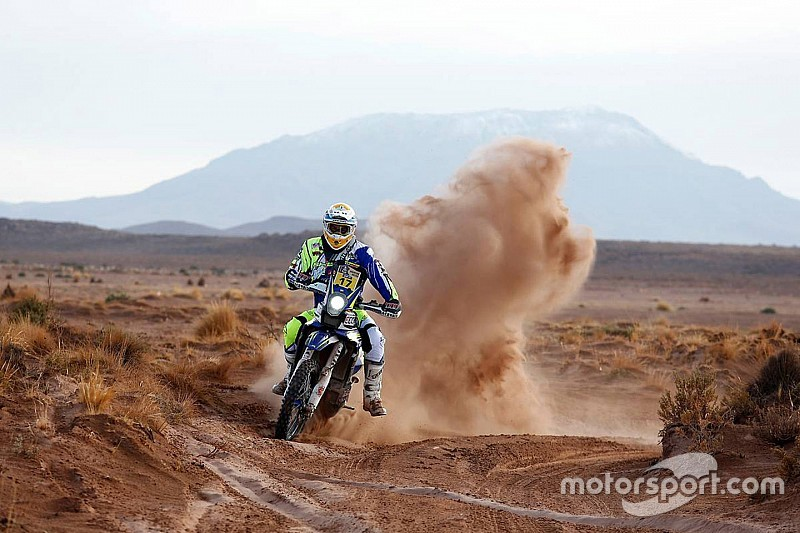 Pedrero leapfrogs Sherco TVS teammate Duclos in stage eight