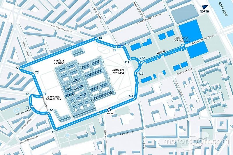 巴黎ePrix赛道正式公布!