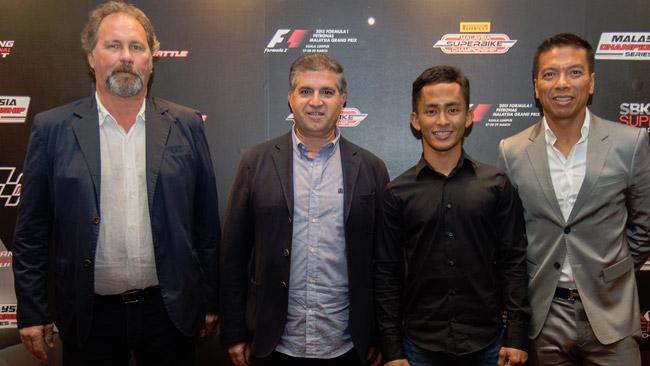 Khairuddin salta in Supersport con la Orelac Racing
