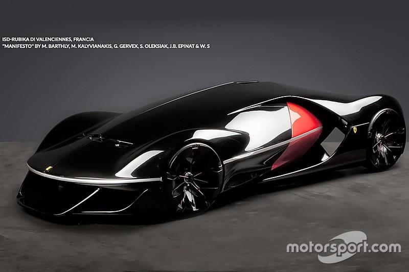 Manifiesto gana concurso de autos futuristas de Ferrari- Video - Automotive Noticias