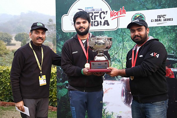 Offroad Tejinder Singh wins RFC North round