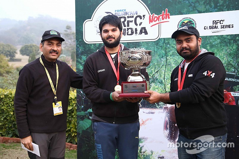 Tejinder Singh wins RFC North round