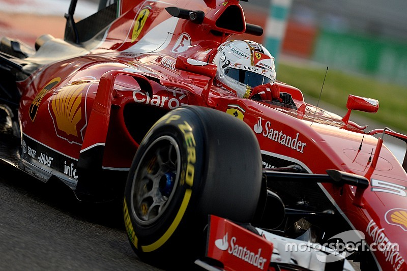 Феттель опробовал Ferrari F14-T
