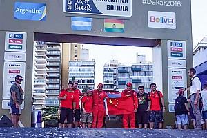 达喀尔 比赛报告 成绩不佳但目标达成  两中国车手完梦达喀尔