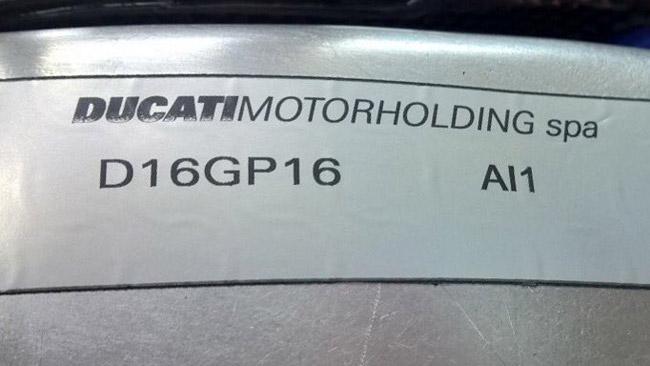 La Ducati GP16 si vedrà solamente ai test di Sepang