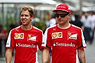 La Ferrari porta sia Vettel che Kimi ai test Pirelli
