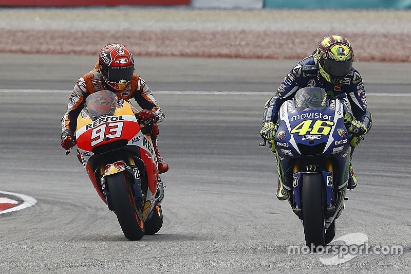 FIM e Honda não liberam dados de choque de Rossi e Marquez