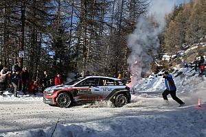 WRC 赛段报告 WRC蒙特卡罗拉力赛第三日:米克和拉特瓦拉退赛