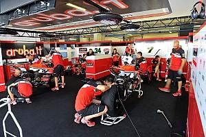 WSBK Résumé d'essais Ducati - Un travail minutieux pour la reprise des essais