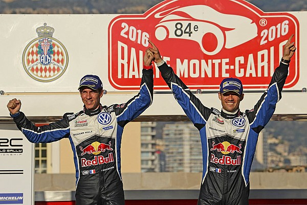 Weltmeister Sebastien Ogier gewinnt Rallye Monte Carlo für Volkswagen