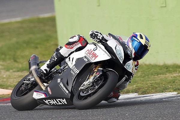Markus Reiterberger und Althea-BMW mit Tests in Vallelunga