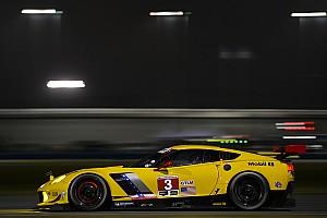 IMSA Crónica de entrenamientos Corvette logra el primer sitio en la práctica nocturna