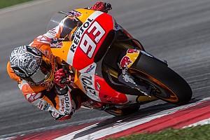 MotoGP Testbericht Marc Marquez frustriert: Honda eine Sekunde hinter Yamaha