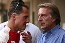 Montezemolo dice que las noticias que le llegan de Schumacher