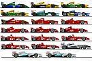 车王舒马赫的20辆F1赛车
