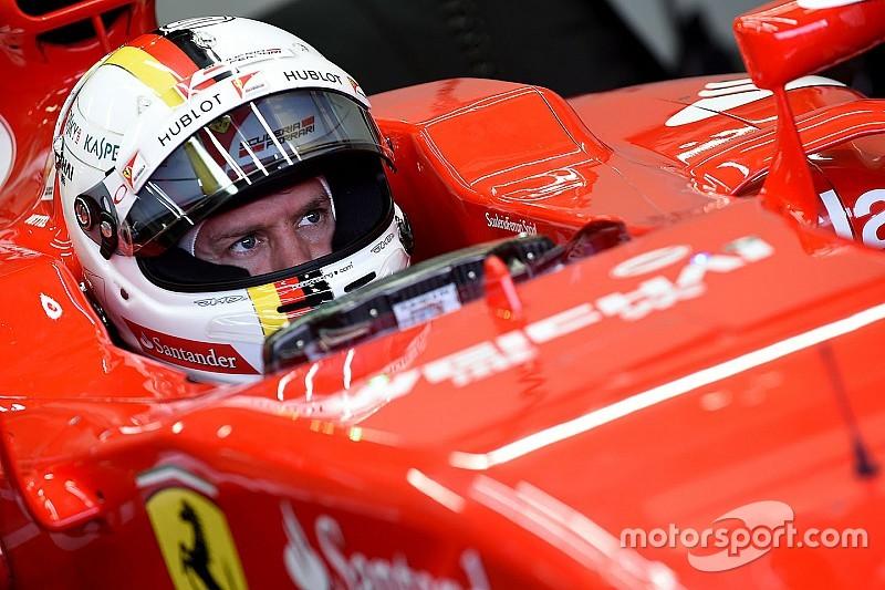 Sebastian Vettel ha fatto il sedile per la Ferrari 2016