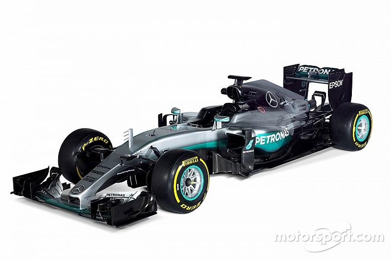 Mercedes reveló su coche para 2016