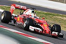 Vettel klokt snelste tijd op ochtend eerste testdag