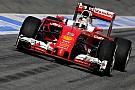 Vettel leidt de dans op eerste testdag in Barcelona