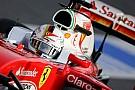 Vettel mantém Ferrari em 1º em manhã de disputa com Red Bull