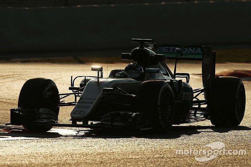 La Mercedes ha più carico di una F.1 di sempre?
