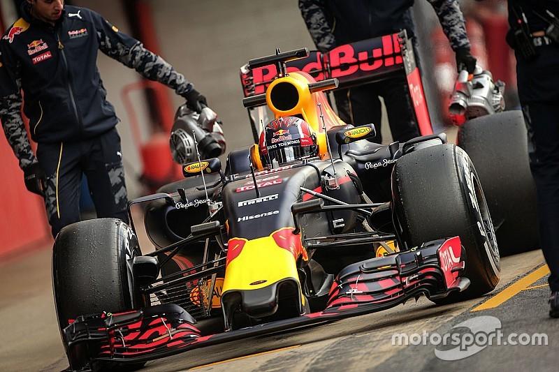 Red Bull объявила график работы во второй серии тестов
