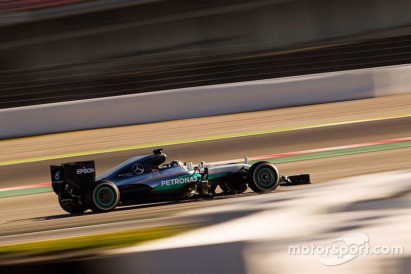 Rosberg fue el más rápido, Ferrari sigue con problemas