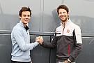 Grosjean será mentor de Louis Deletraz