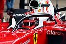 Fotos - el halo en la cabina del piloto en el Ferrari SF16-H