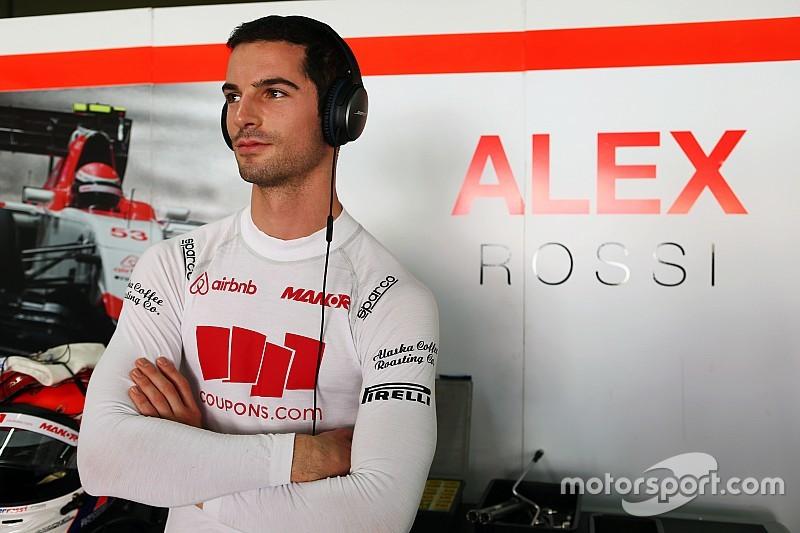 Alexander Rossi será piloto de reserva de Manor