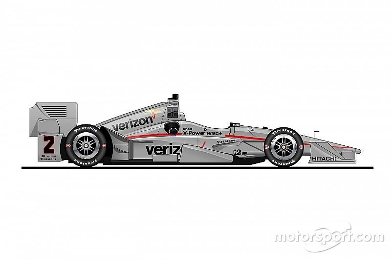 Penske festeggia i 50 nel Motorsport con una nuova livrea