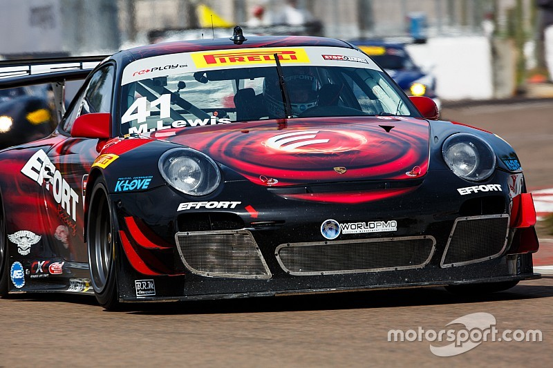 Michael Lewis scores his first PWC pole