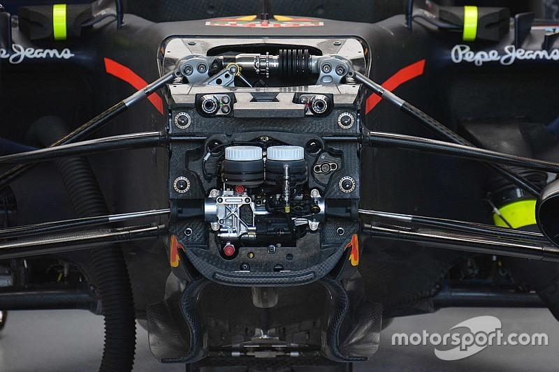 Red Bull: è stata modificata la sospensione anteriore push rod