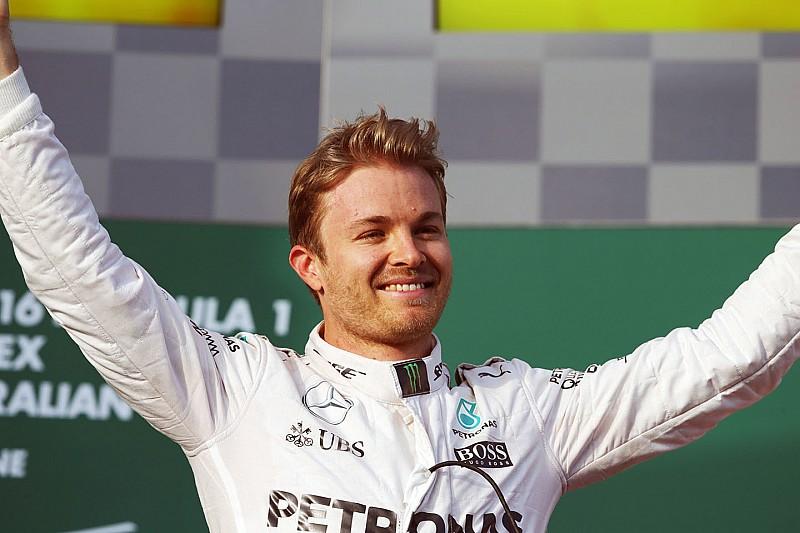 Rosberg wint seizoensouverture in Australië, Verstappen tiende