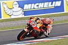Marquez en Honda boven in tweede vrije training