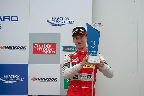 F3 Europe 欧洲F3保罗·里卡德R2:艾洛特夺冠,周冠宇首登领奖台