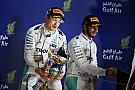 Tussenstand Formule 1: Rosberg nu 17 punten voor op Hamilton
