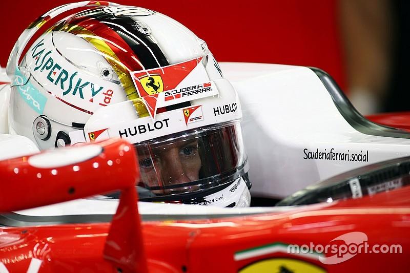 """""""La idea es una mier..."""", dice Vettel sobre la idea de calificación"""