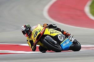 Moto2 Relato de classificação Rins faz pole na Moto2 em treino marcado por forte acidente