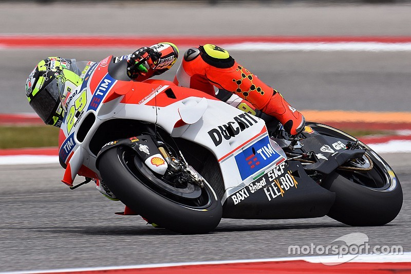 Iannone pudo posponer su penalización hasta Jerez, pero lo rechazó