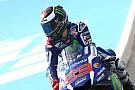 Lorenzo saca el martillo en la primera jornada del GP de España
