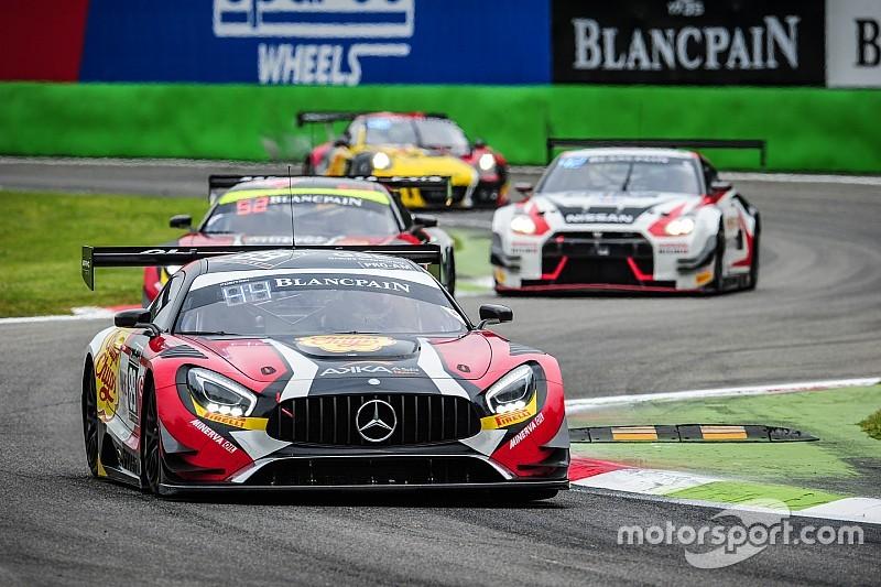 Maximilian Buhk porta la Mercedes in pole a Monza
