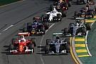 Por ausencia de votantes se frenan las reglas de la F1 para 2017