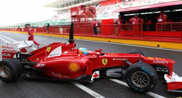 Alonso: Programın ancak bir kısmını gerçekleştirebildik
