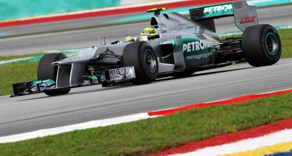 Malezya'da son antrenmanların en hızlısı Rosberg